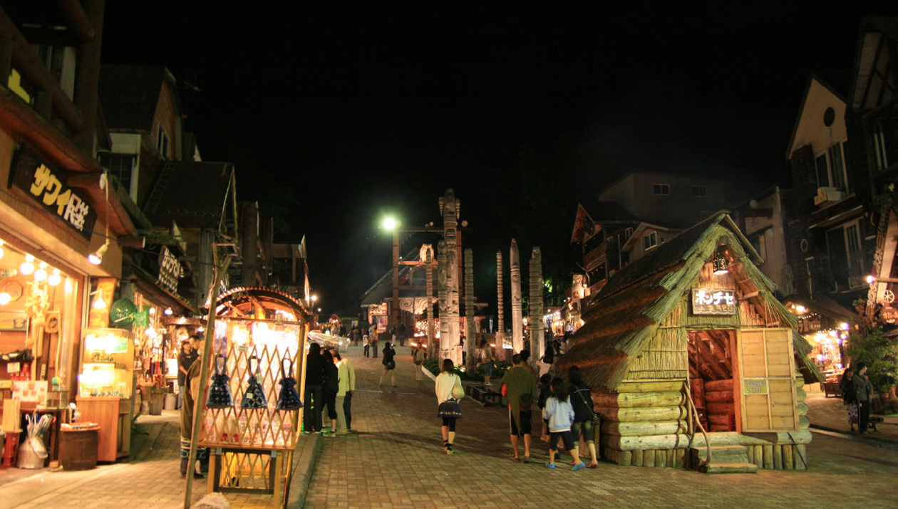 Traditional Craft Shops and Restaurants