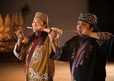 亦可搭配愛努傳統舞蹈見學使用