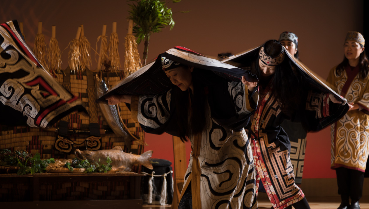 Ainu Ancient Ceremonial Dance